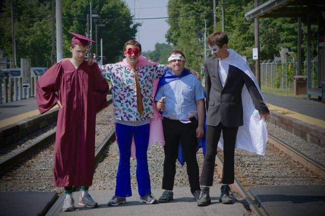 Jack Hanke, New Michael Ingemi, Ethan Finlan and Noah Britton Image Source: Official Asperger's Are Us Documentary Facebook Page
