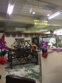 Warping Section, Easter Weaving Room